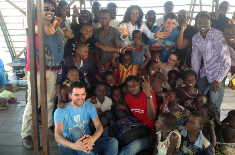 Environmental Awareness Campaign to the Floating School in Makoko, Lagos