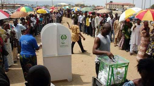 Election Day in Nigeria
