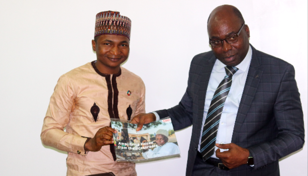 ICPC to Partner CODE on Constituency Projects and Youth Mobilization