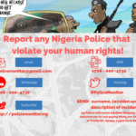 [PRESS RELEASE] Civil Society Coalition Launches Platform to Monitor Police Human Rights abuse on Citizens