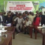 MARRAKECH COP 22: National Civil Society Consultative Forum at Heinrich Boll Hall, Abuja