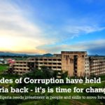 Decades of corruption have held Nigeria back — it's time for change
